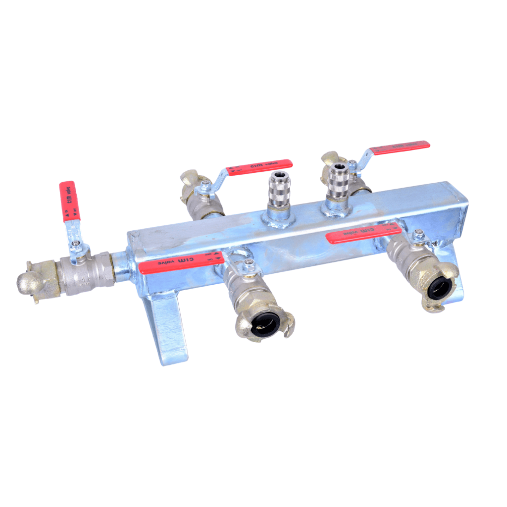 4-way manifold for Jetvent Compressed Air Duct Cleaner
