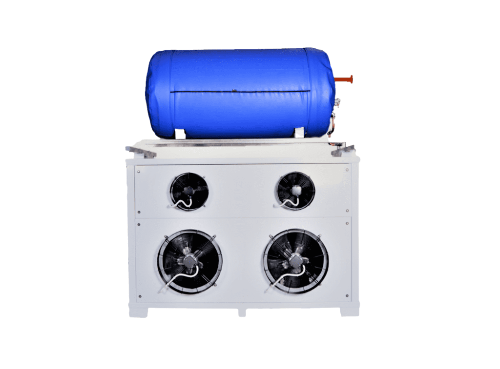 Co2 Gas Recovery Unit with buffertank. from Aquila Triventek