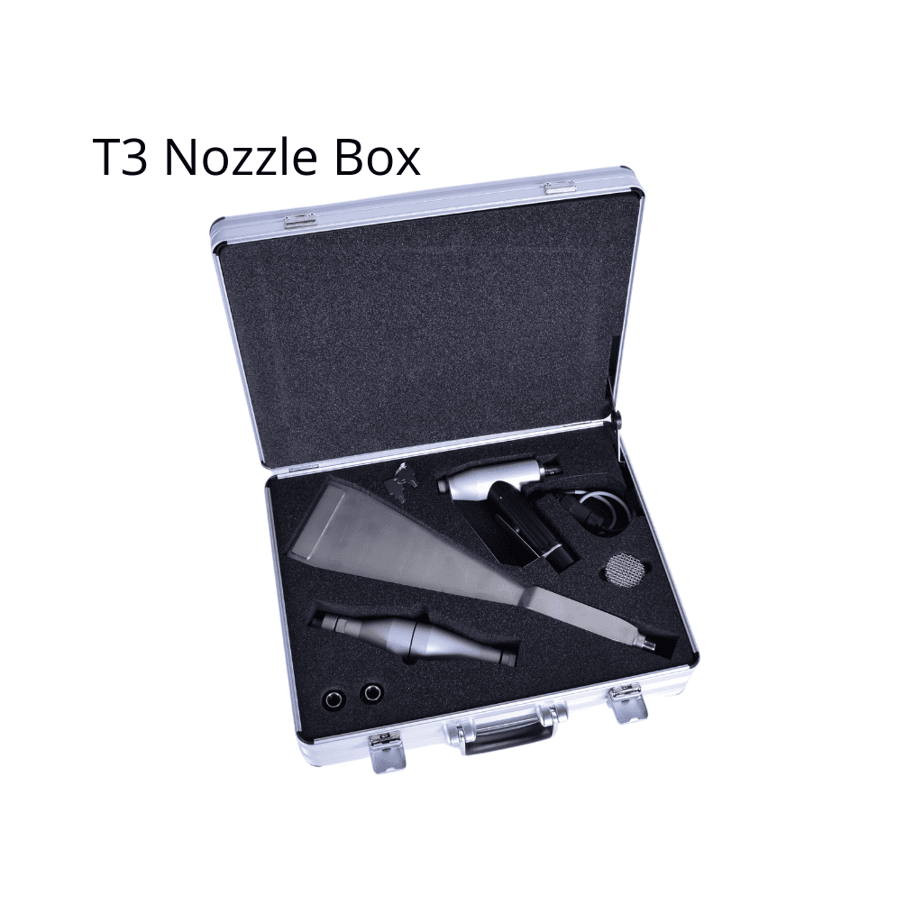 T3 Nozzle Box for dry ice blasters