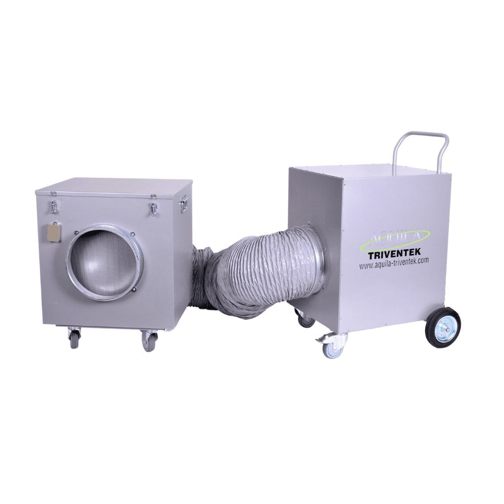 Jetvent VT45 Extractor with filterbox from Aquila Triventek